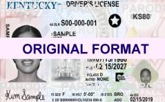 � kentucky fake ids scannable kentucky fake id card